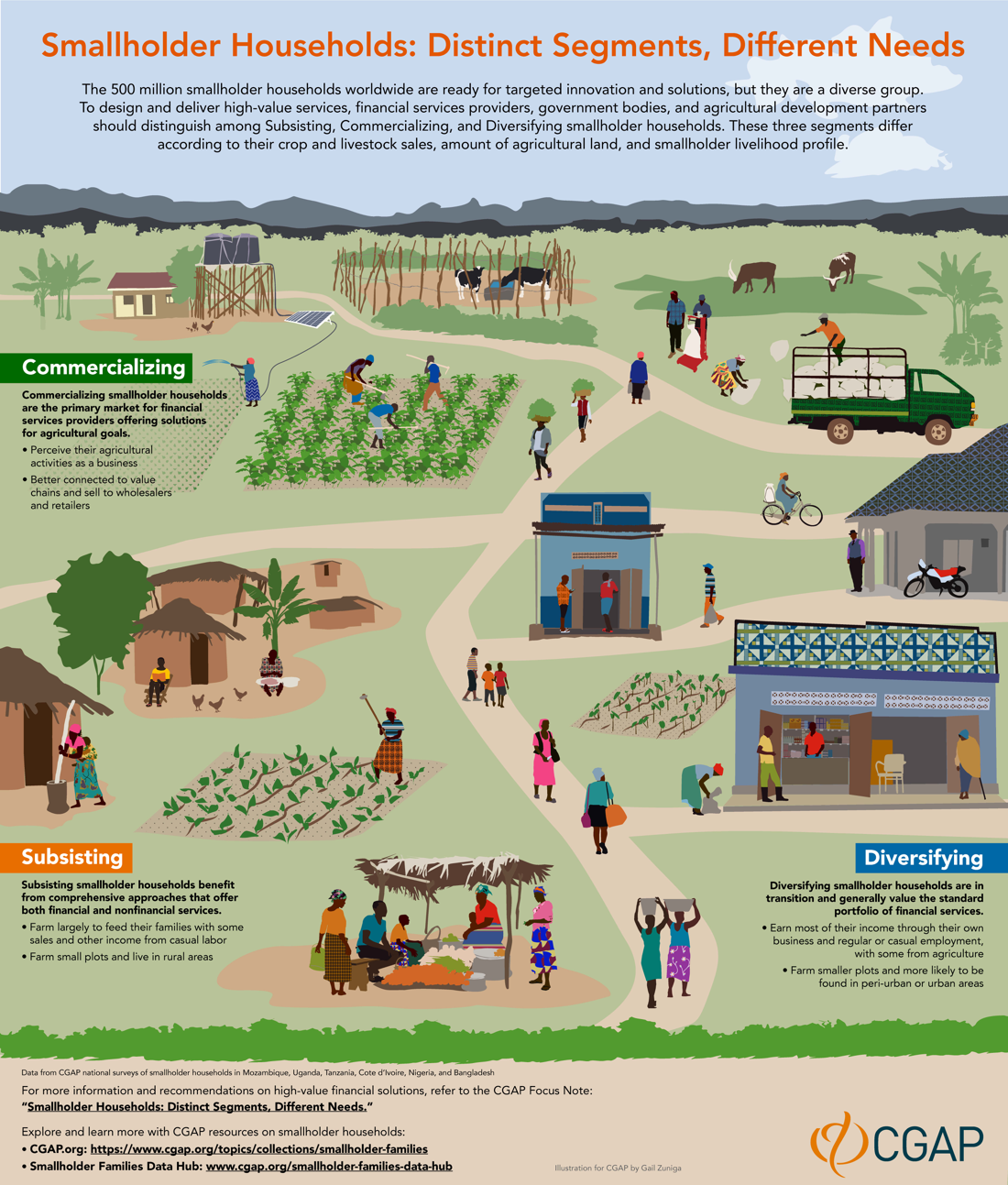 Smallholder Households infographic