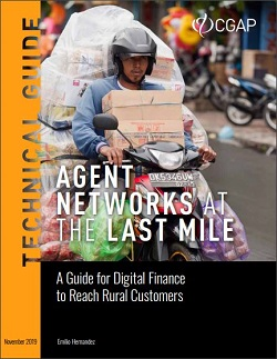 "Cover of ""Agent Networks at the Last Mile"" (CGAP, 2019)"
