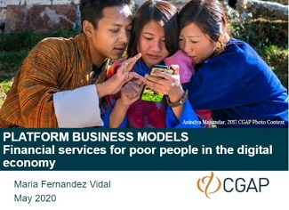 Platform Business Models: Financial Services for Poor People in the Digital Economy