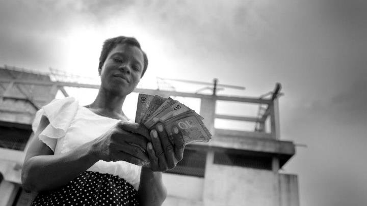 A borrower in Ghana. Photo: Jay Bendixen, 2012 CGAP Photo Contest