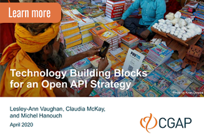 Technology building blocks for open APIs cover image